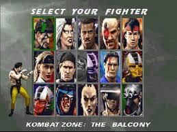Personajes del juego Mortal Kombat